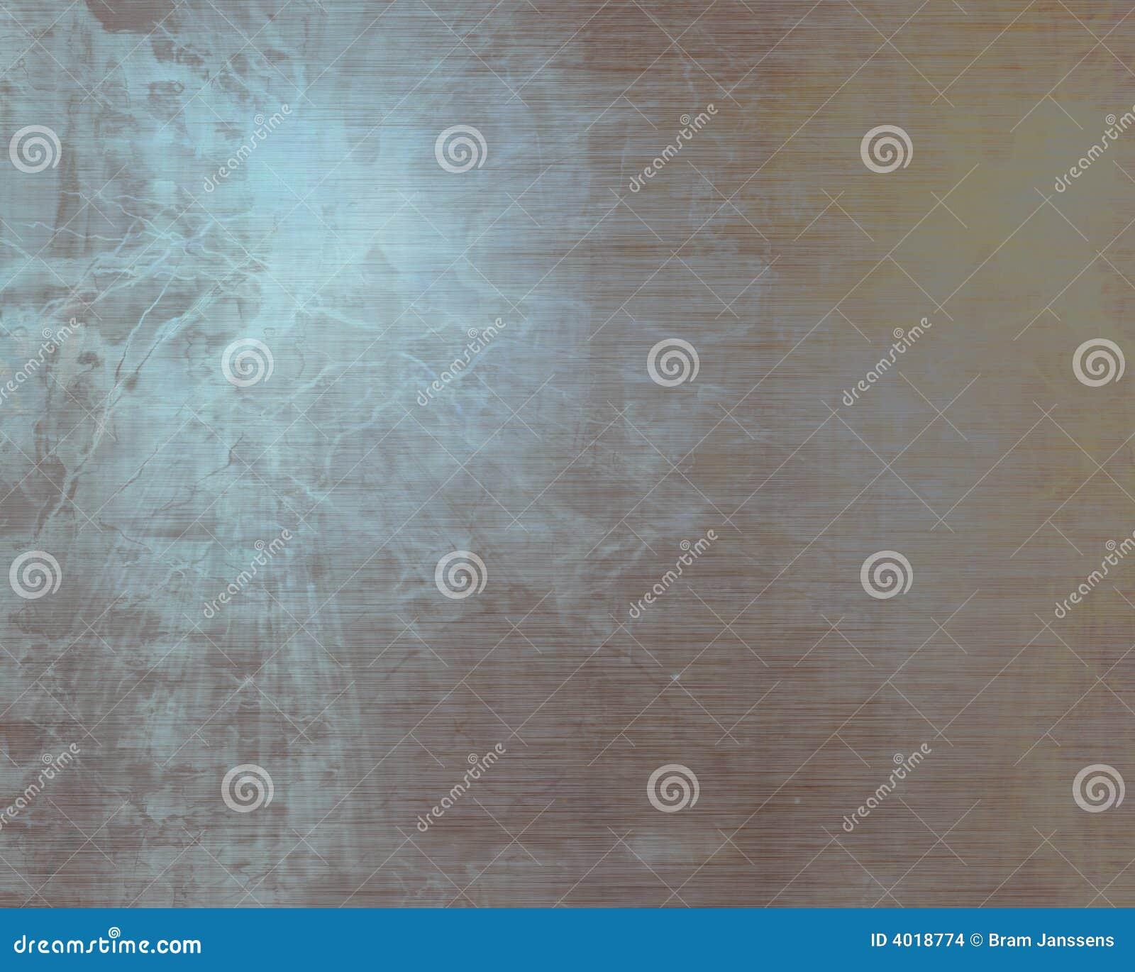 Placa de metal aplicada con brocha del alluminium