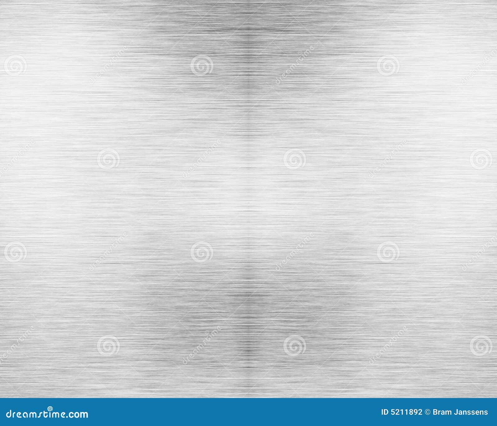 Placa de metal de alumínio escovada