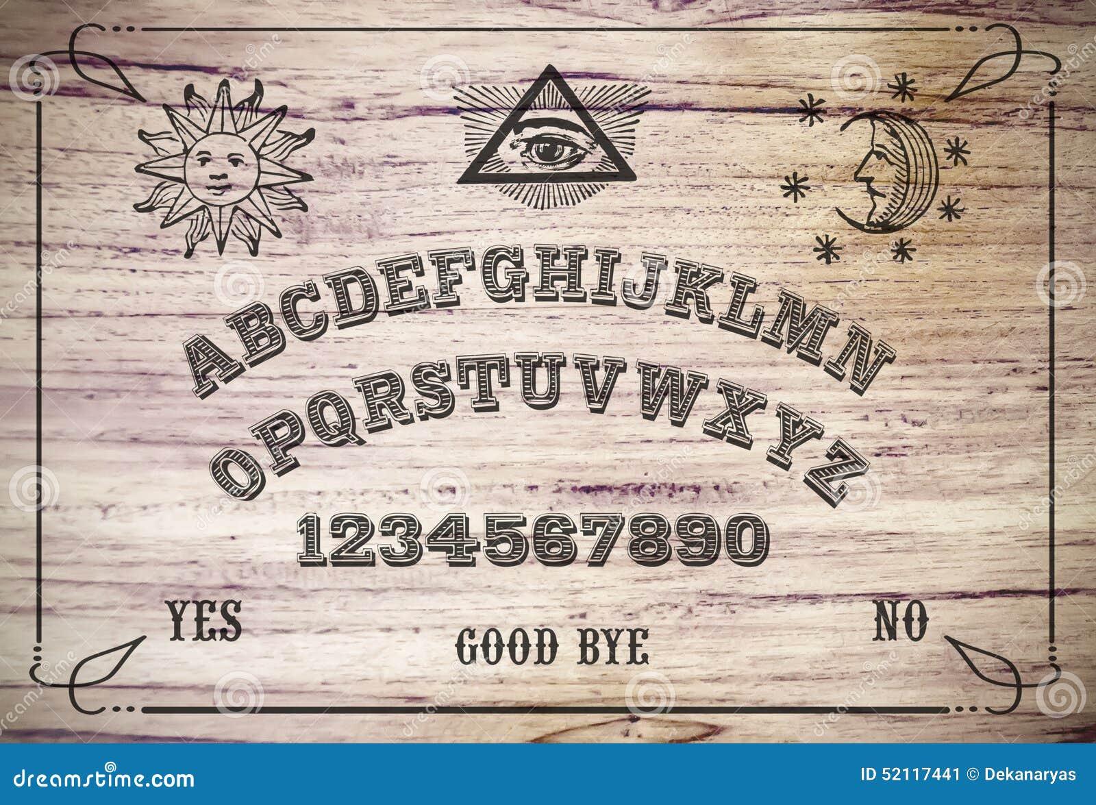 Placa de Ouija