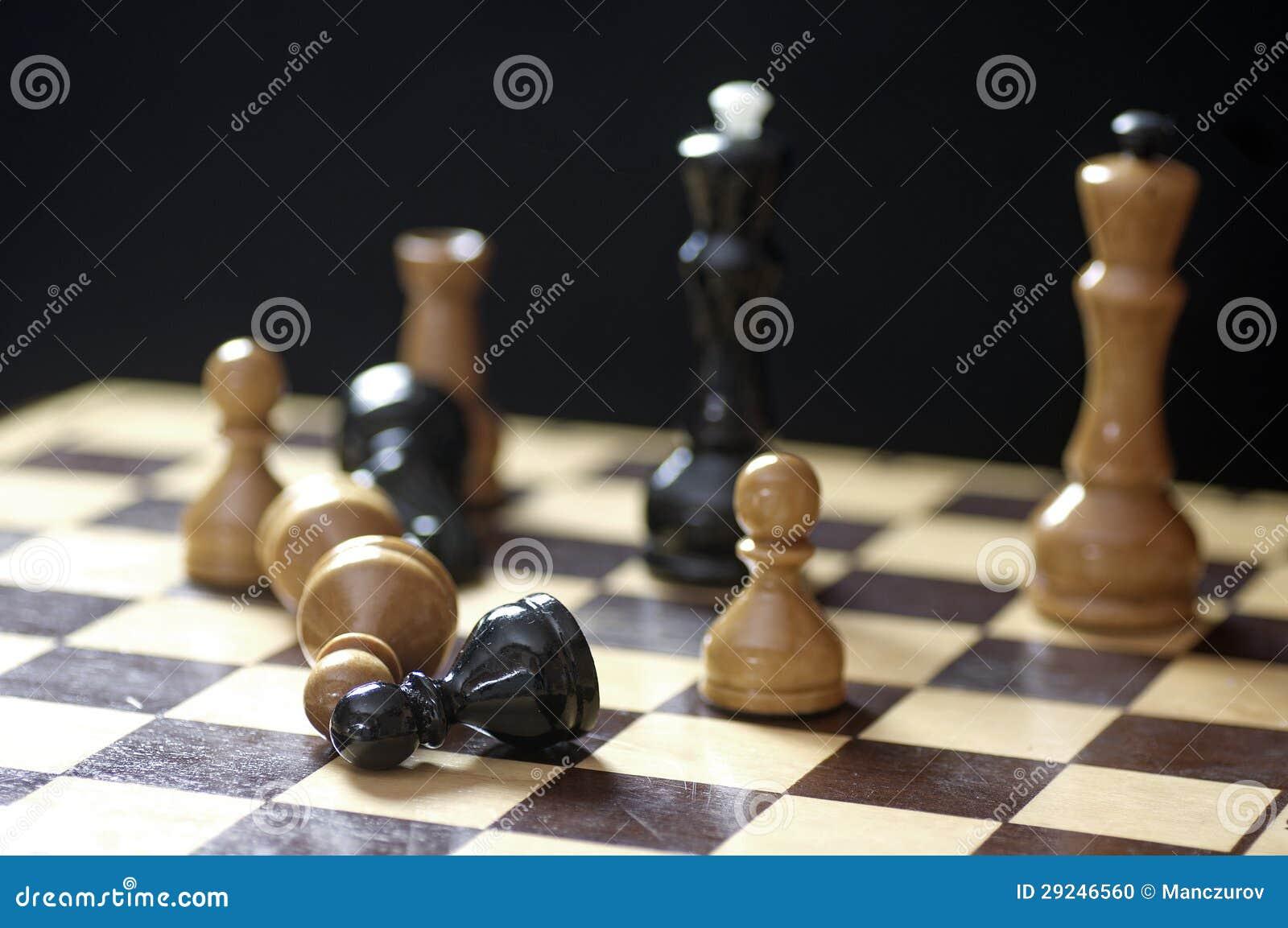 Download Placa de xadrez ilustração stock. Ilustração de movimento - 29246560