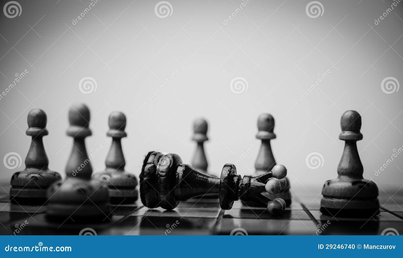 Download Placa de xadrez ilustração stock. Ilustração de planeamento - 29246740