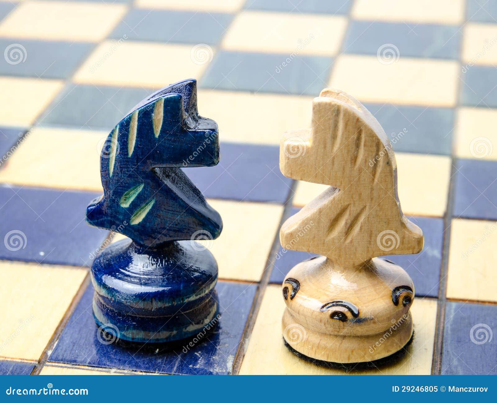Download Placa de xadrez ilustração stock. Ilustração de decisão - 29246805