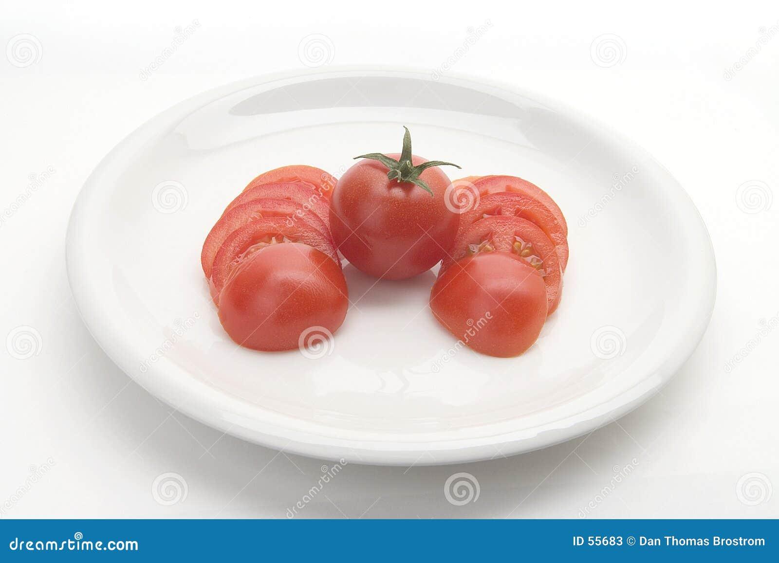 Placa del tomate