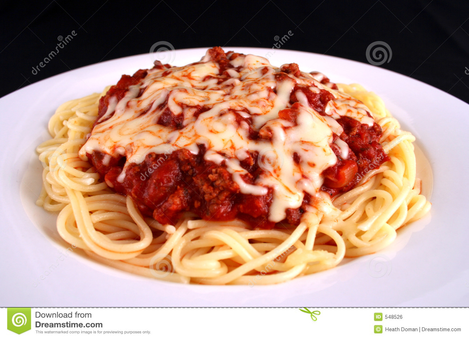 Placa do espaguete