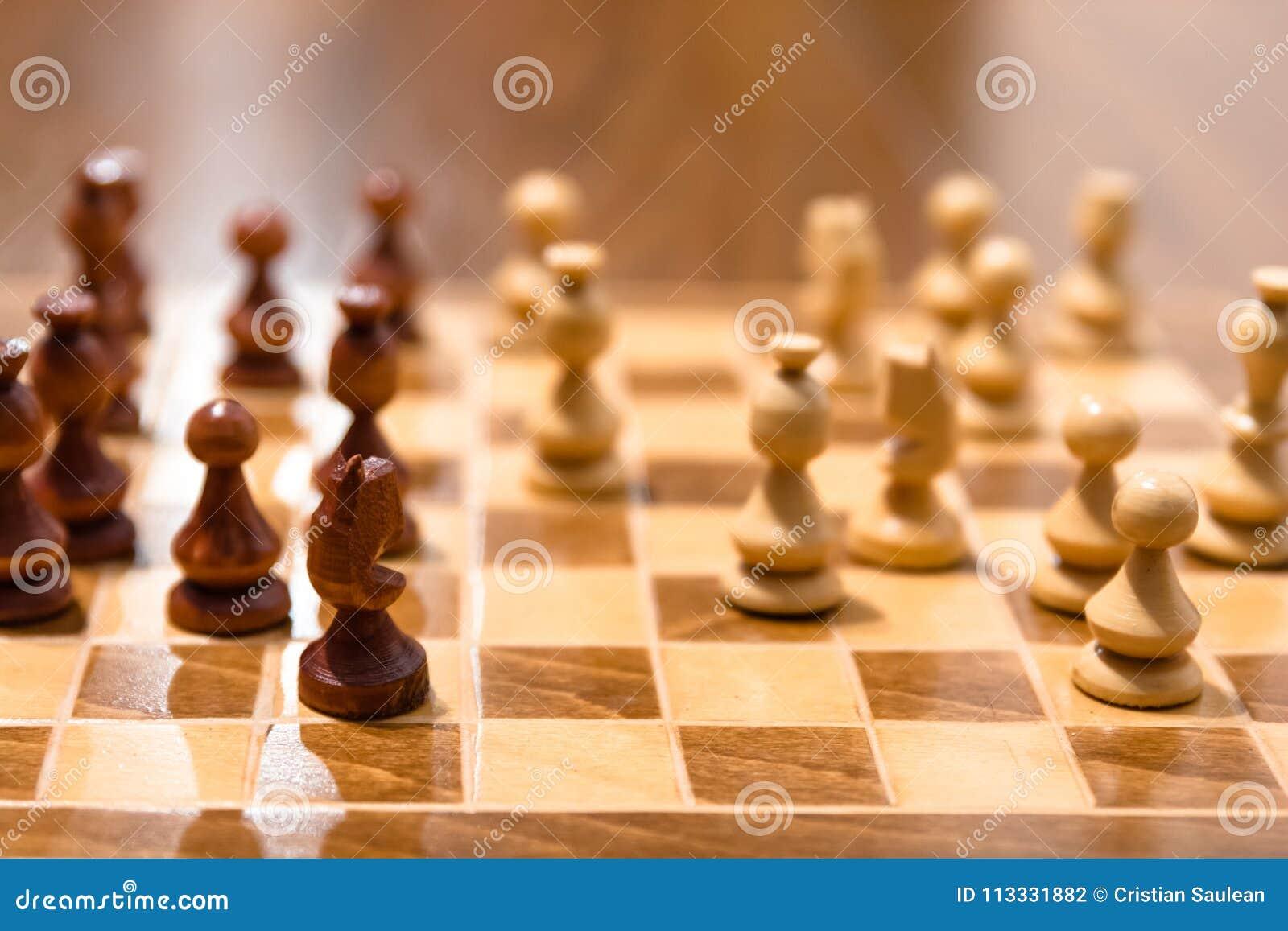 Placa do jogo de xadrez