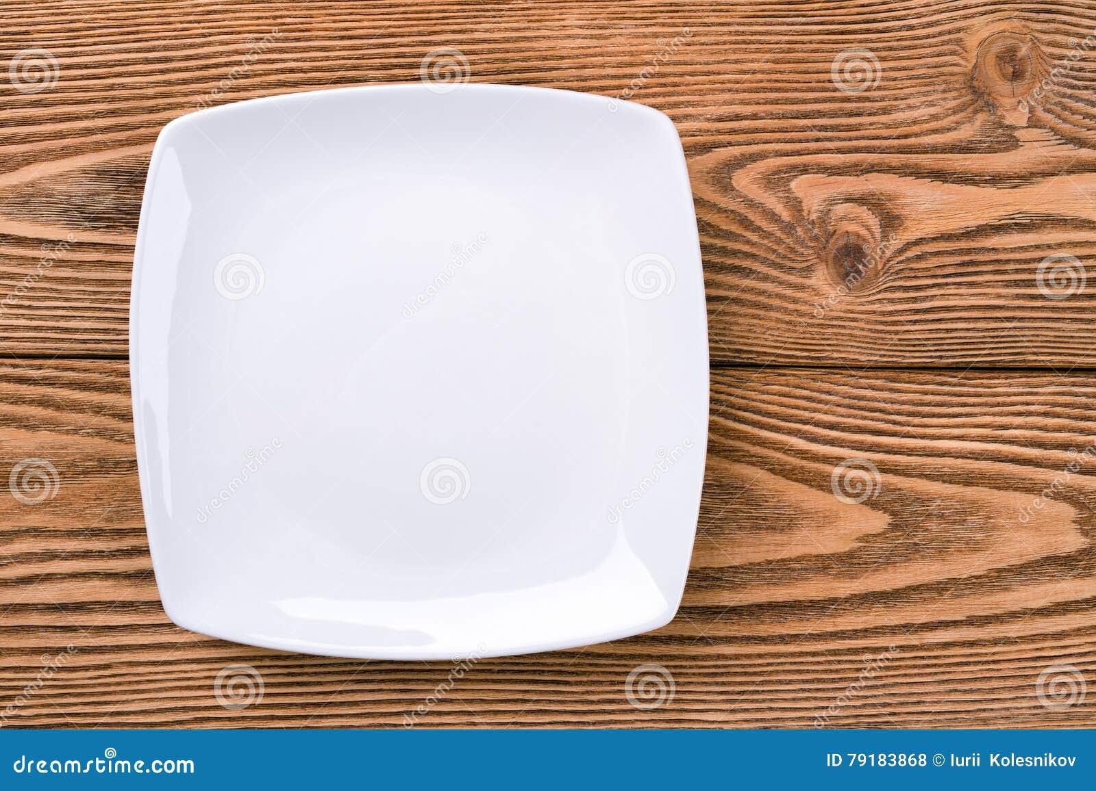 Placa do quadrado branco