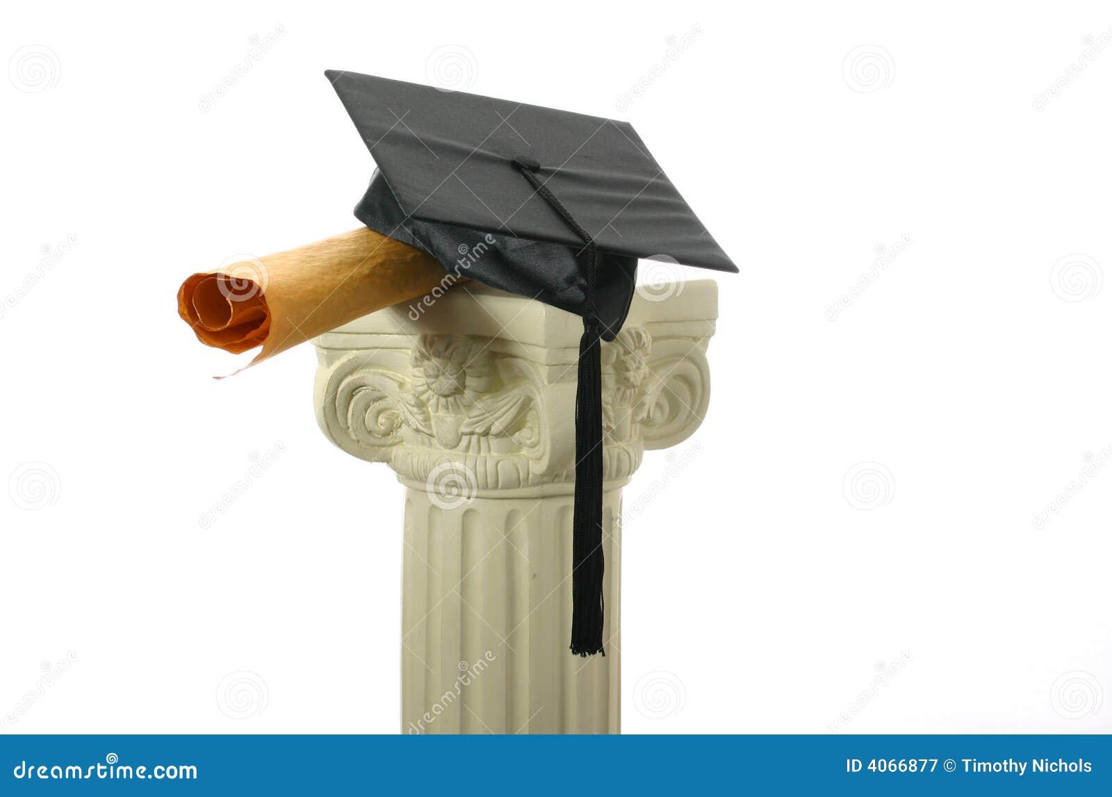 Placa e diploma do almofariz no suporte II