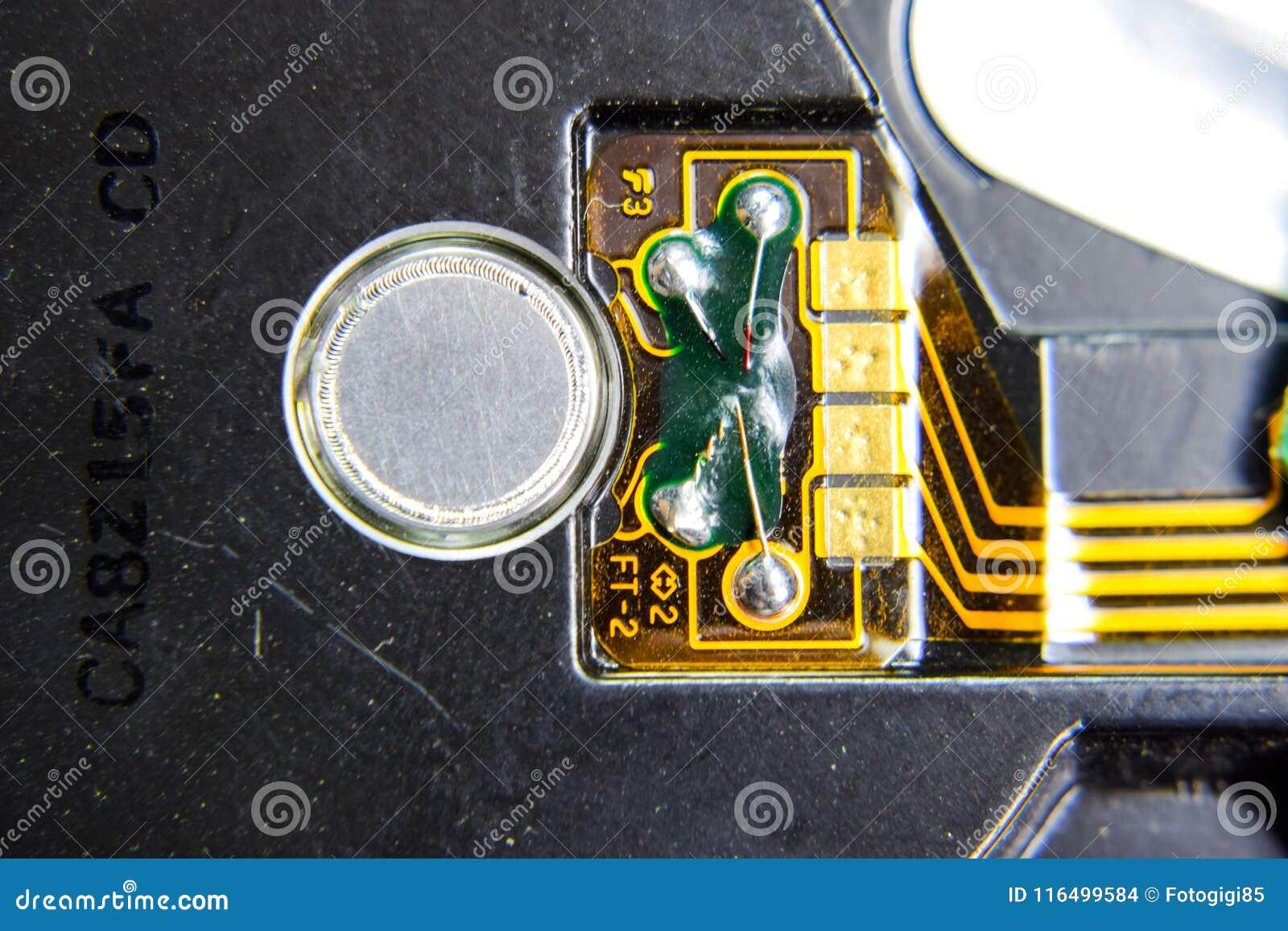 Placa eletrônica com componentes bondes Eletrônica do material informático