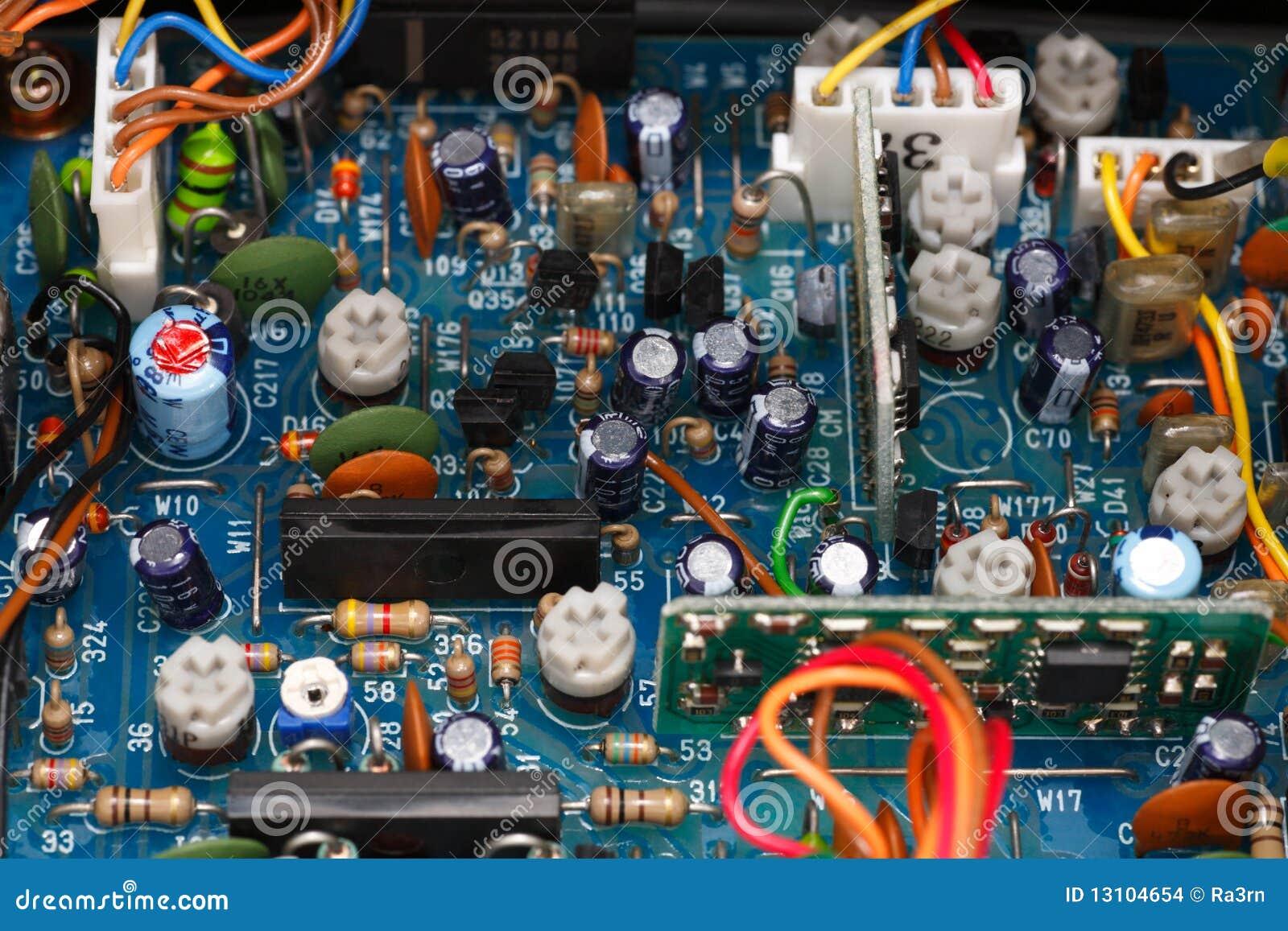 Placa eletrônica do transceptor