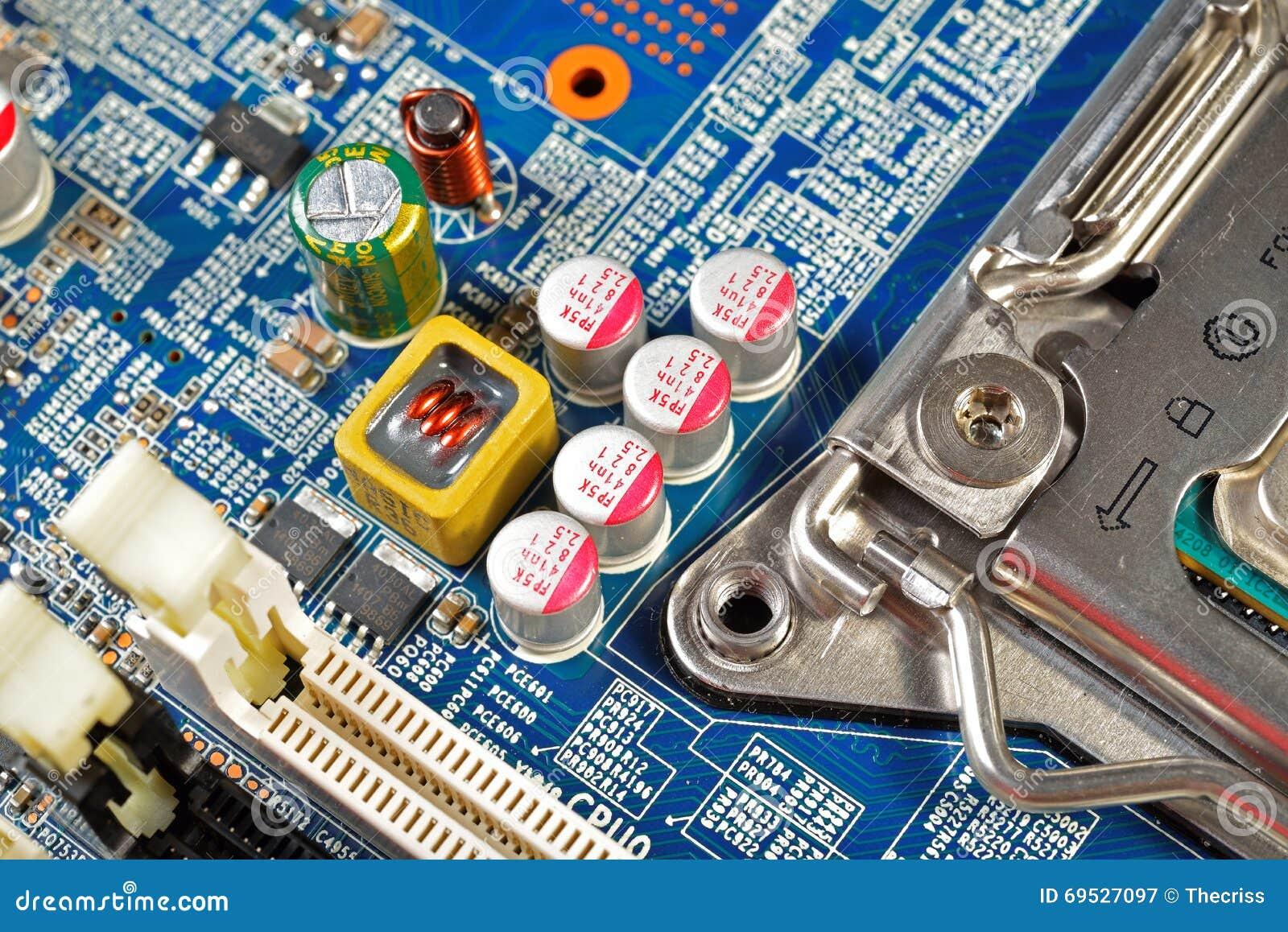Placa madre del hardware