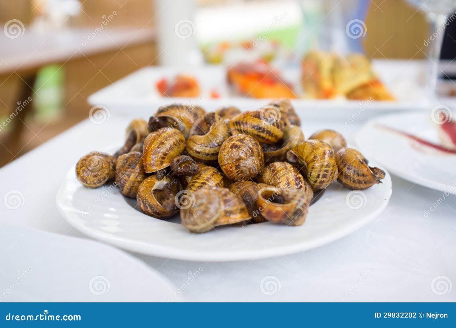 Alimento no restaurante