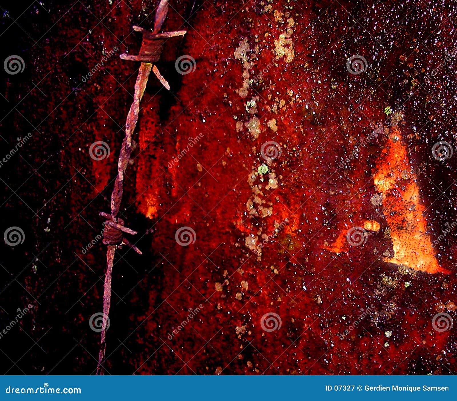 Placa oxidada