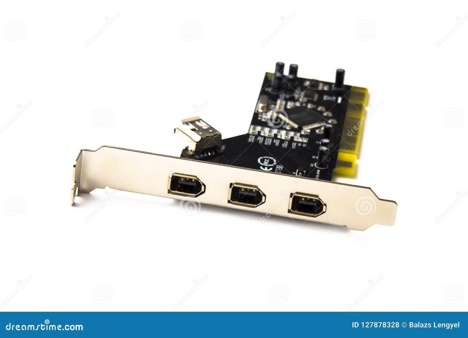 Placa PC do firewire isolada