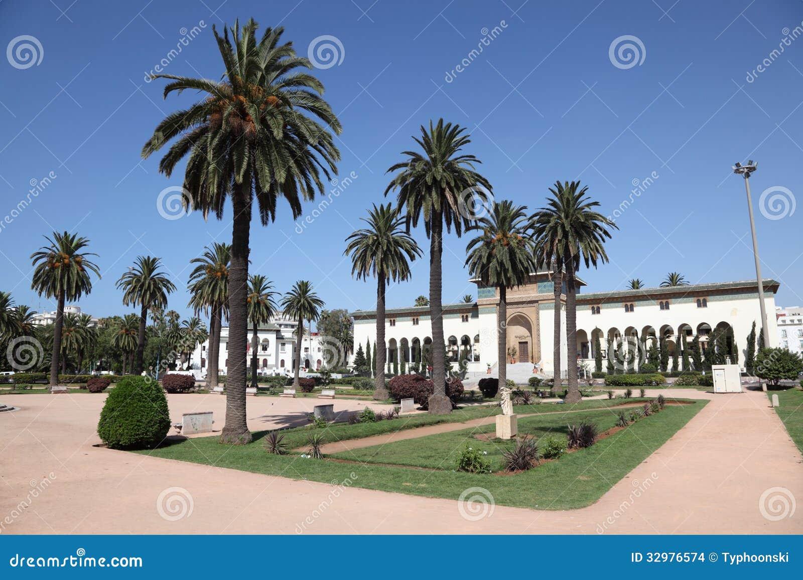 Place à Casablanca, Maroc