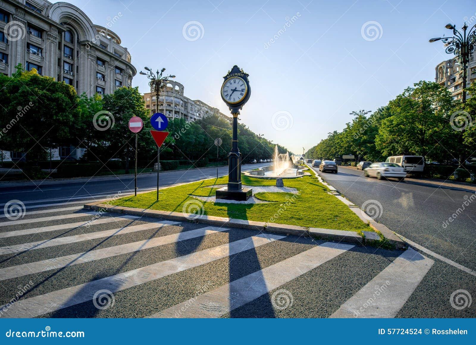 Place centrale à Bucarest