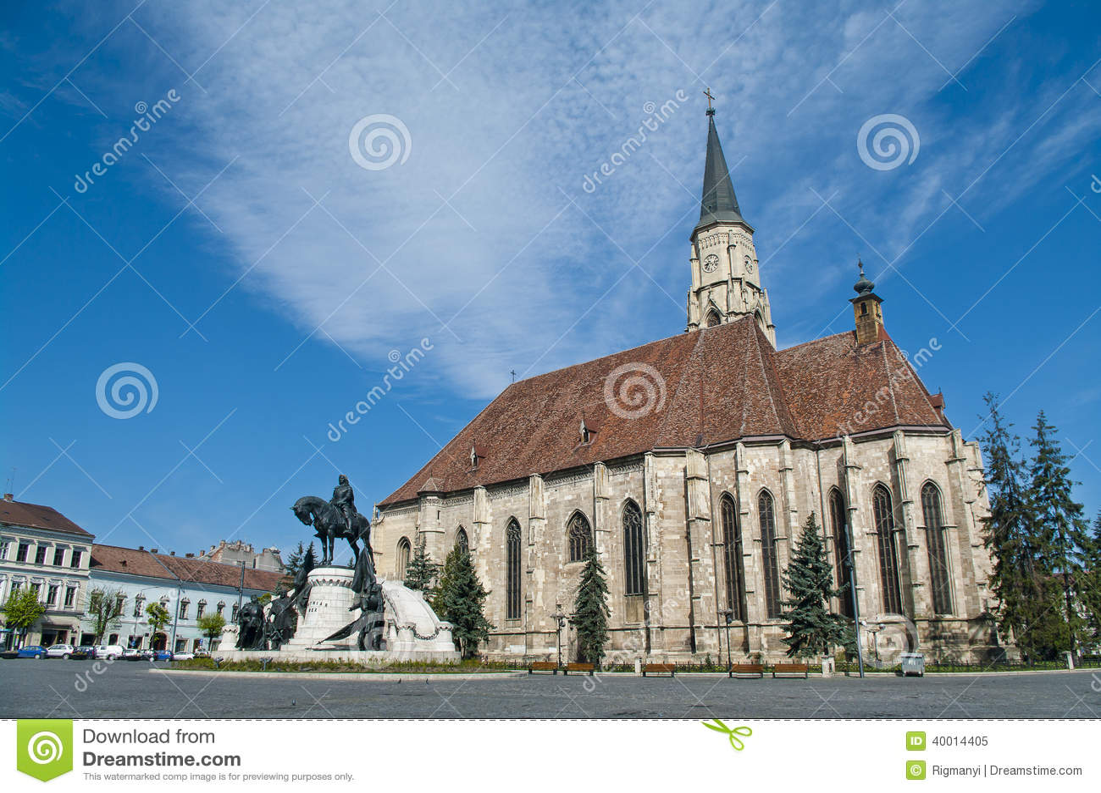 Place centrale, Cluj Napoca, Roumanie