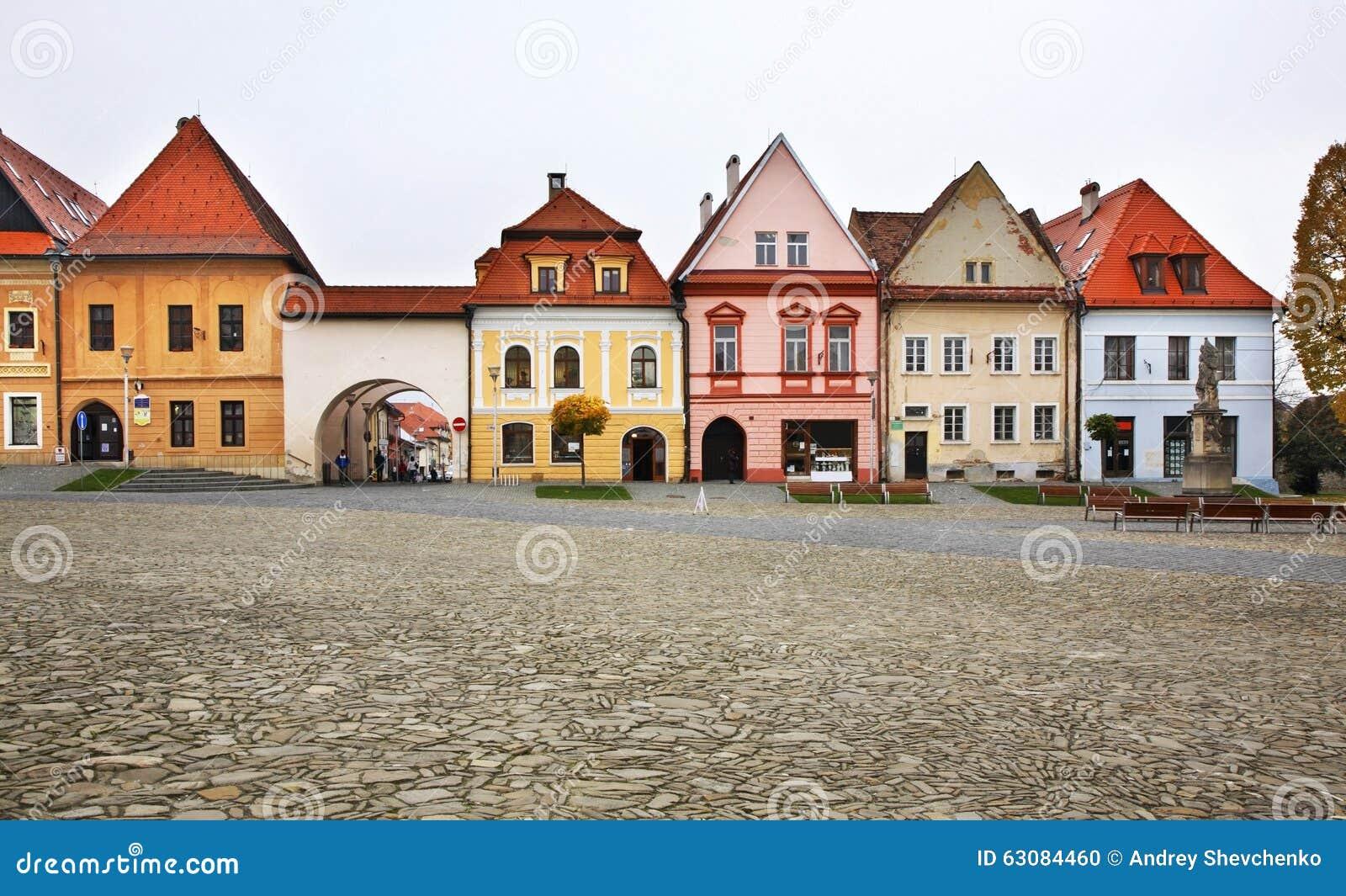 Download Place D'hôtel De Ville (mestie De ¡ De Nà De Né De  De RadniÄ) Dans Bardejov Photo stock - Image du place, hall: 63084460
