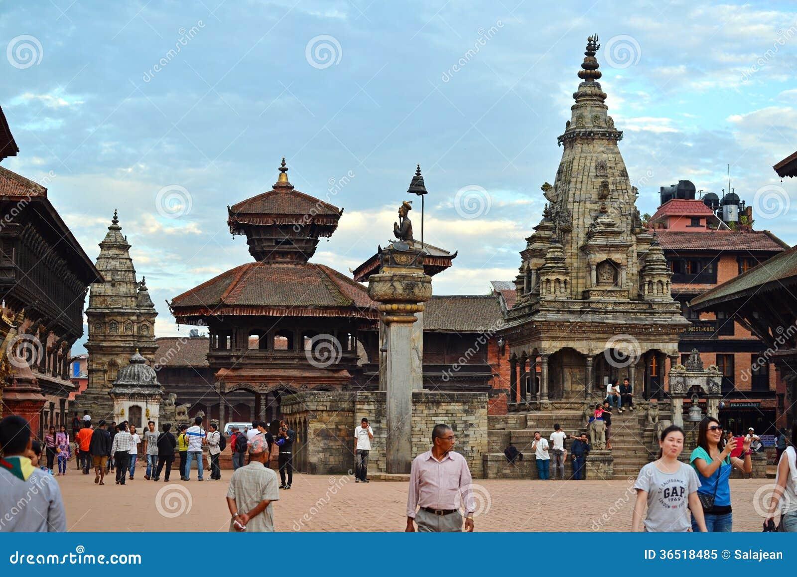 Place de Bhaktapur Durbar, Népal