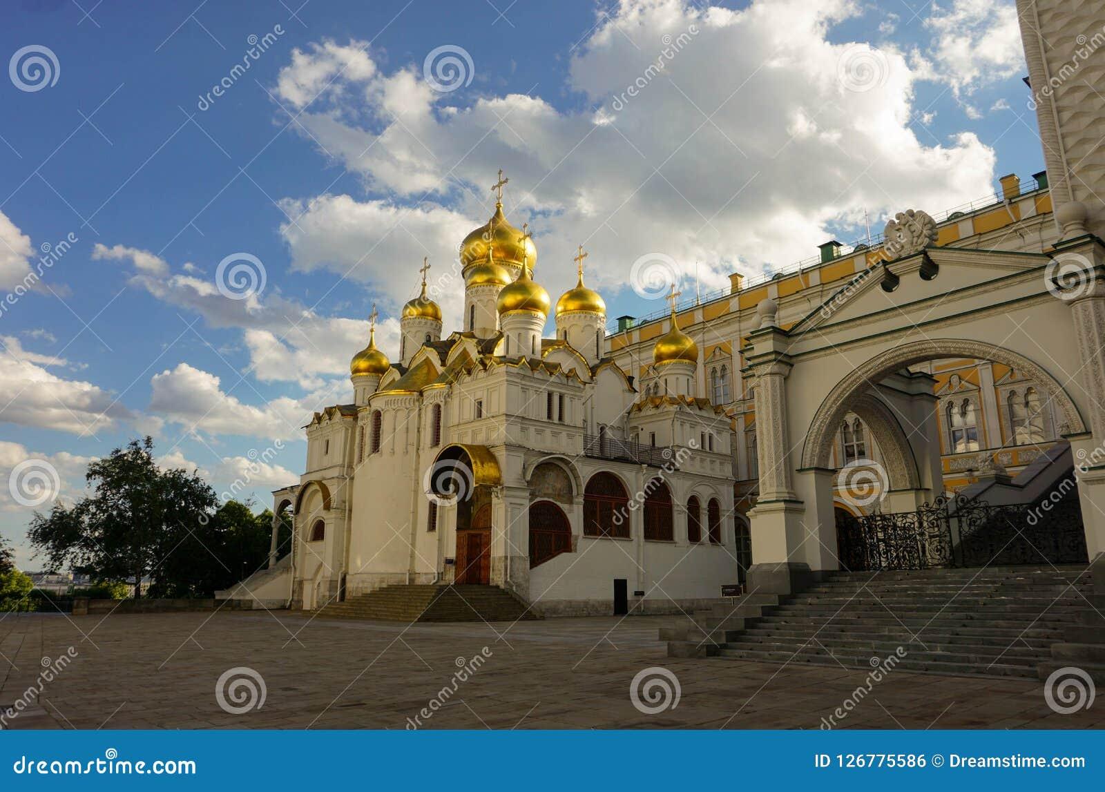 Place de cathédrale de Kremlin