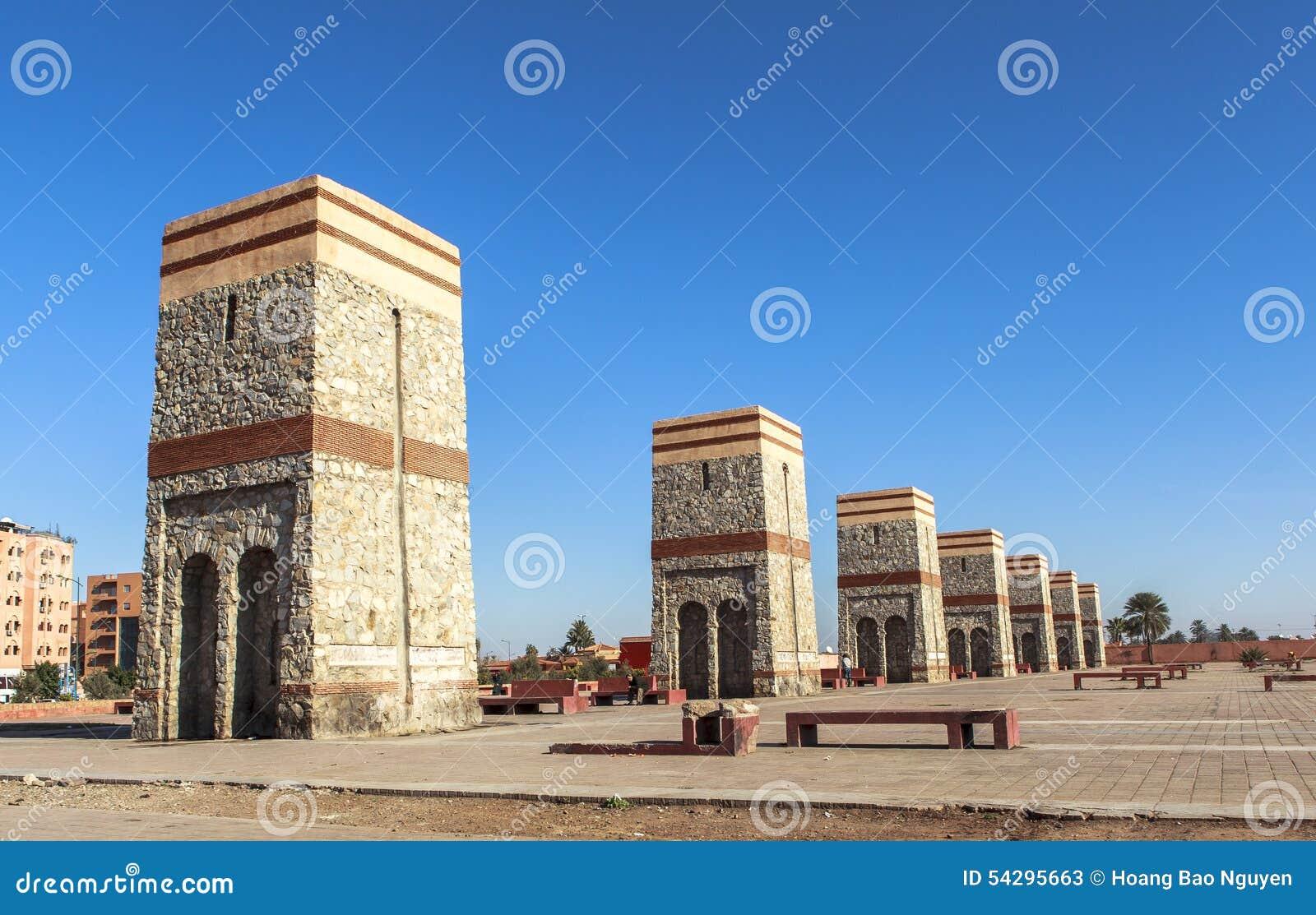 Place de Marrakech, Maroc