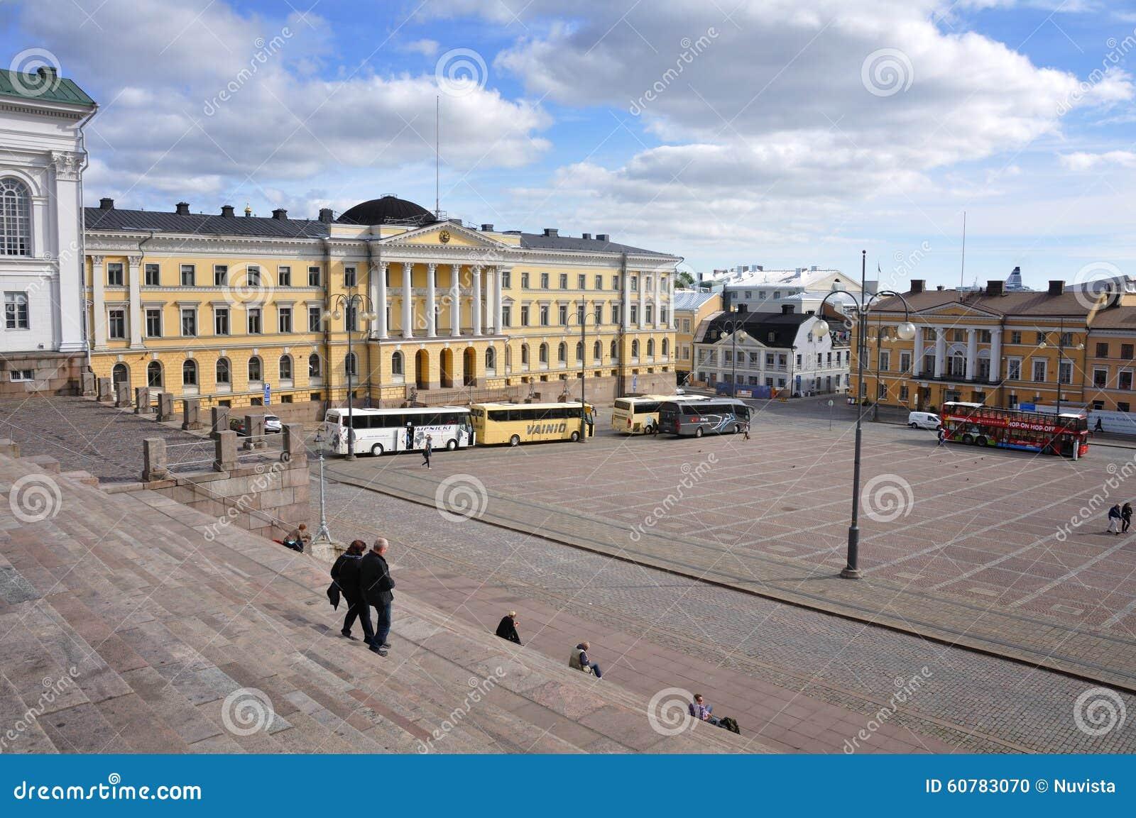 Place de sénat de Helsinki