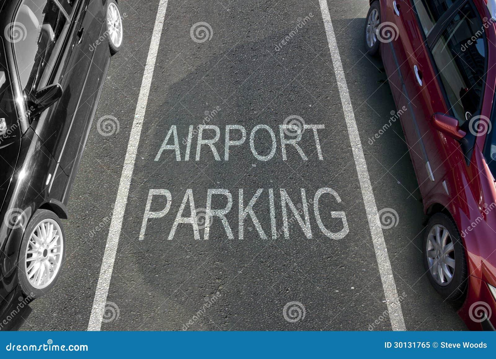 Stationnement d aéroport