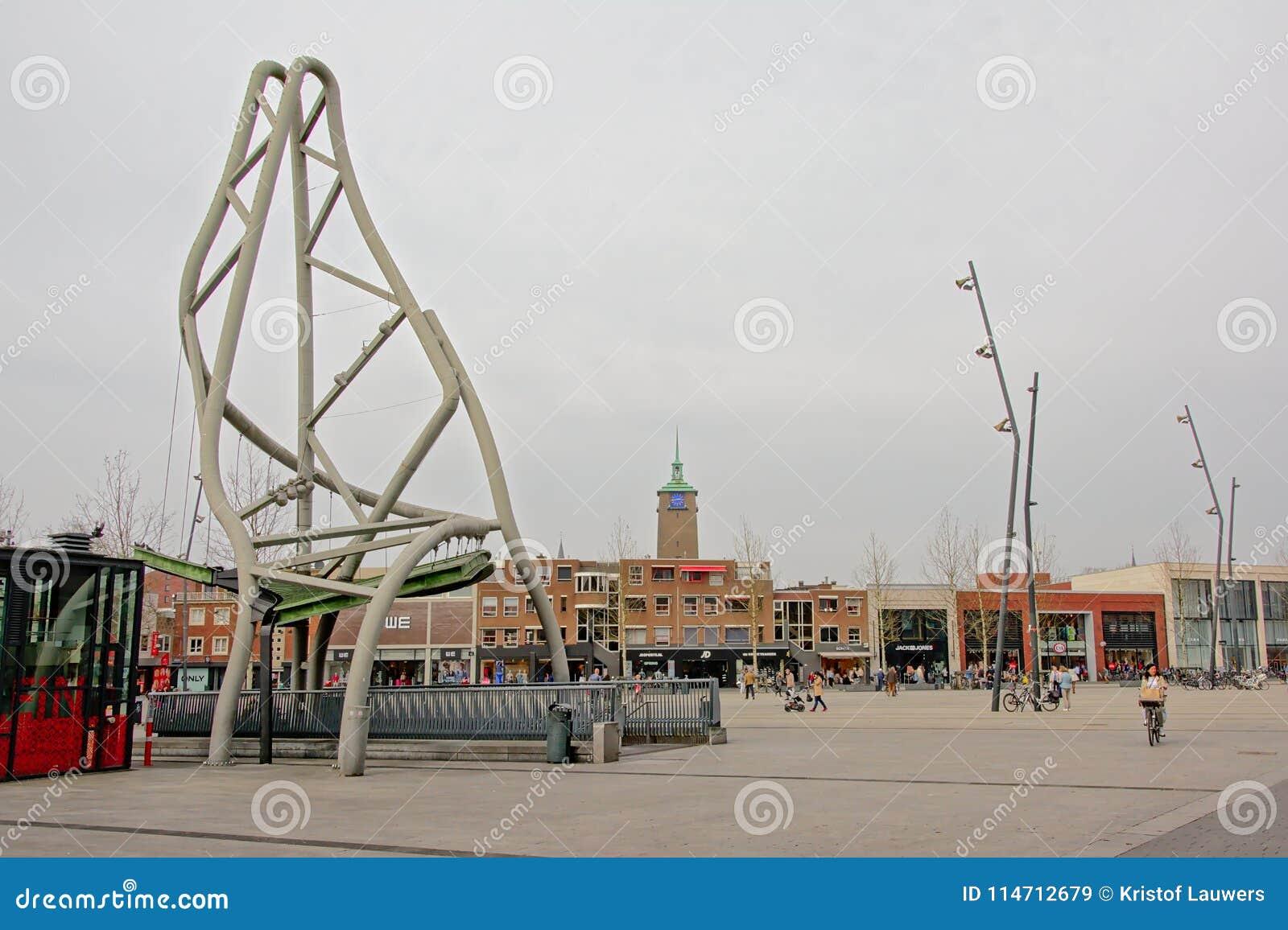 Place de Van Heek, Enschede, Pays-Bas