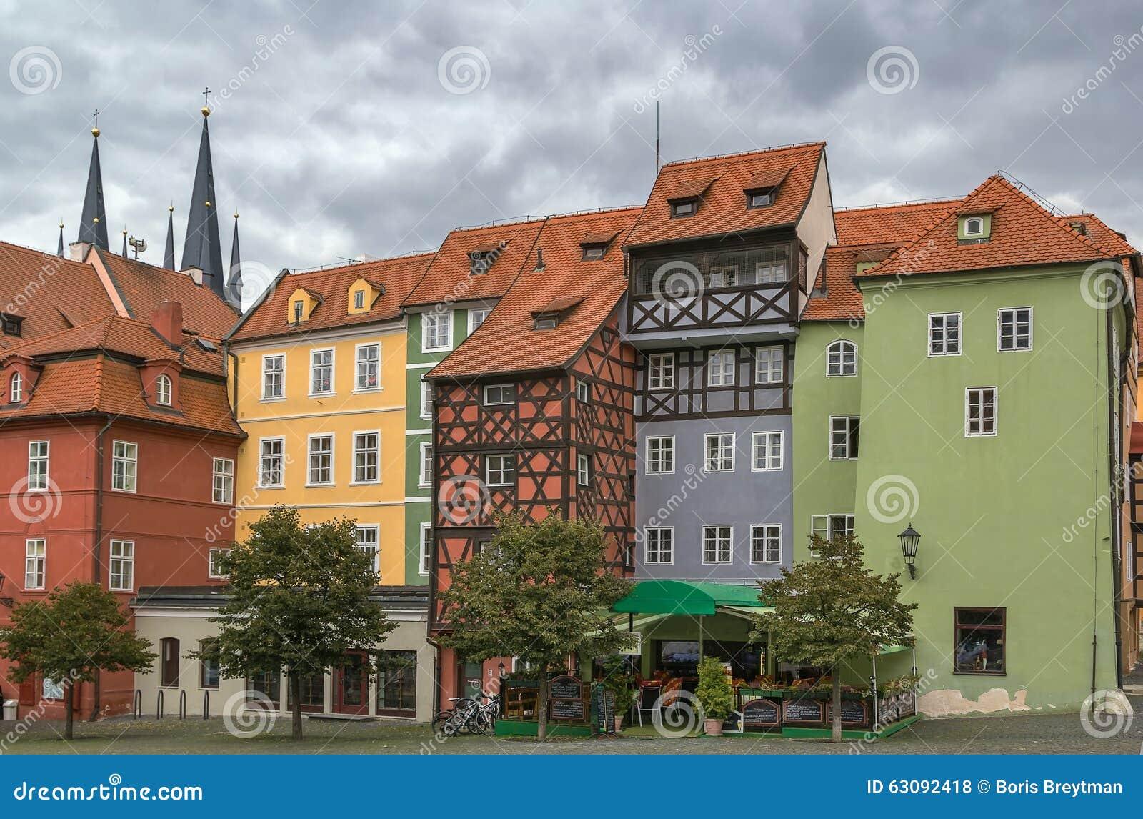 Download Place Du Marché Dans Cheb, République Tchèque Photo stock - Image du histoire, historique: 63092418