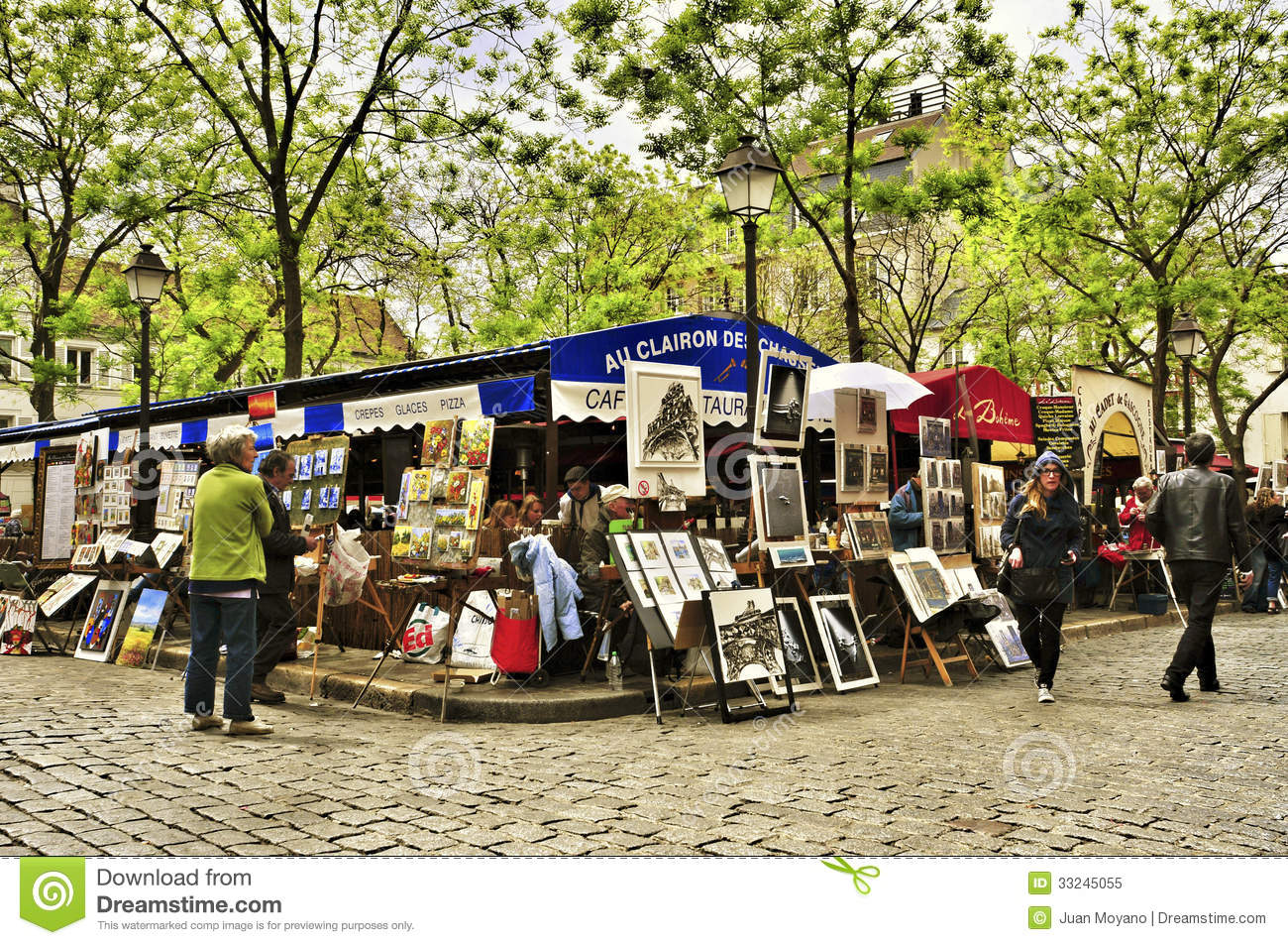 Panoramio - Photo of Montmartre Place du Tertre