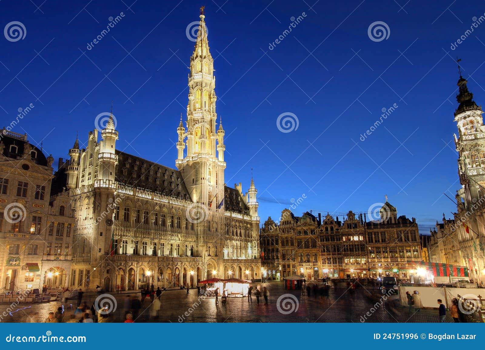 Place grande, Bruxelles, Belgique