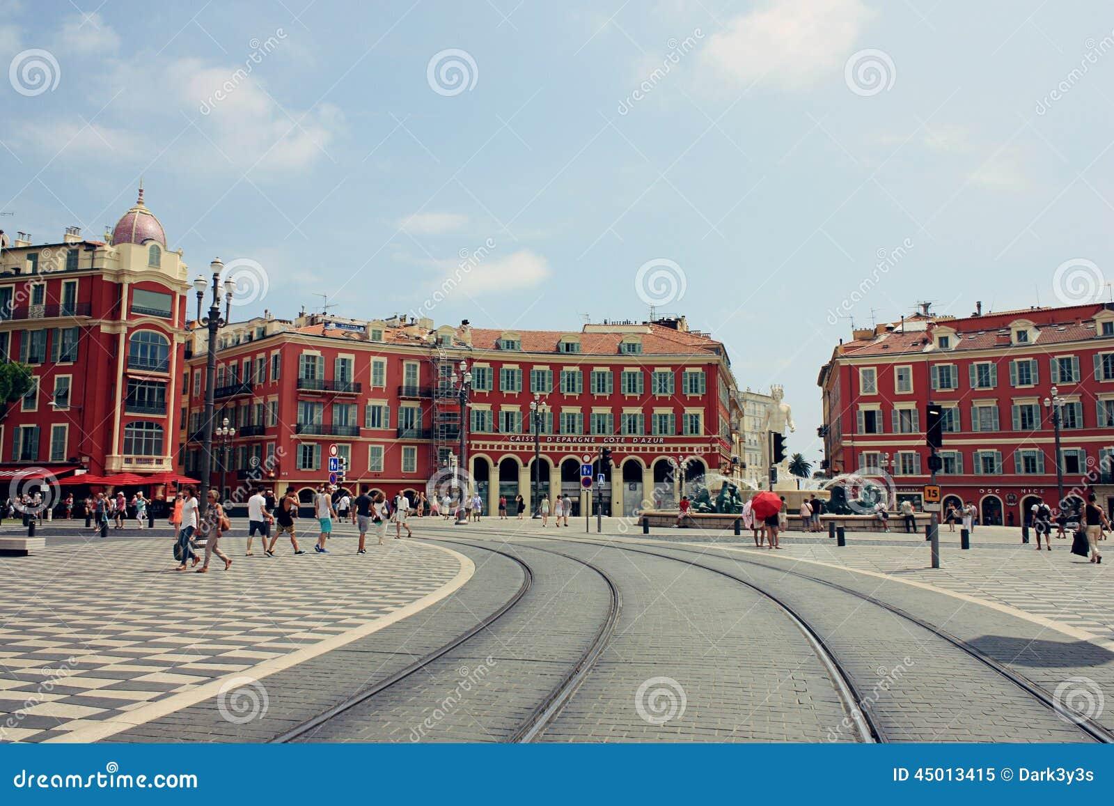 Place massena in nice france editorial image image 45013415 - Place massena nice ...
