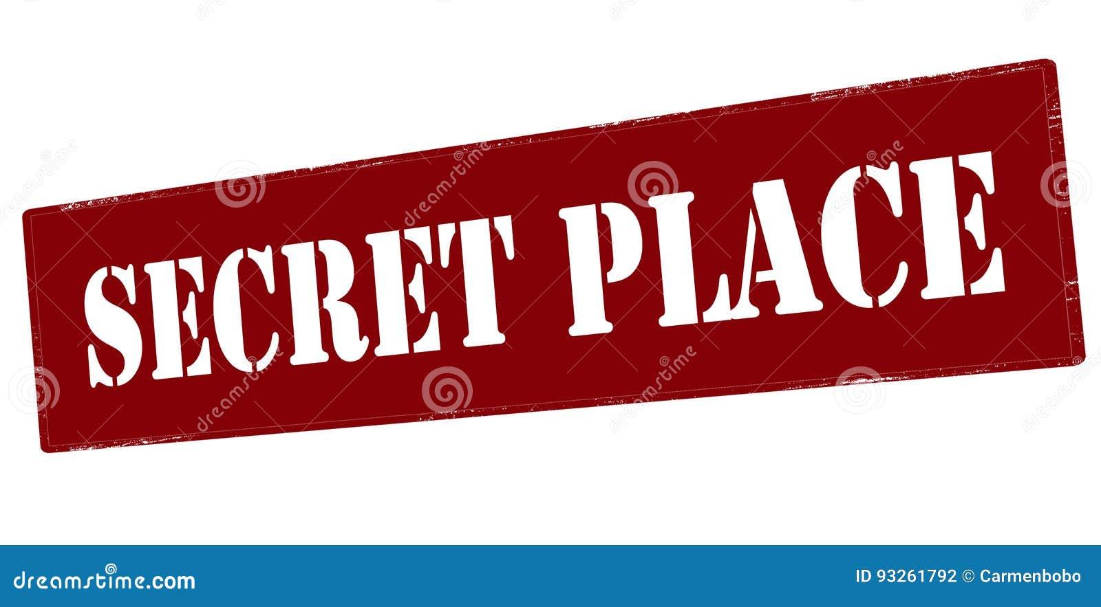 Place secrète