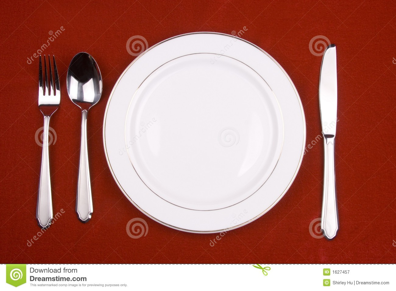 Place Setting Royalty Free Stock Photography - Image: 1627457