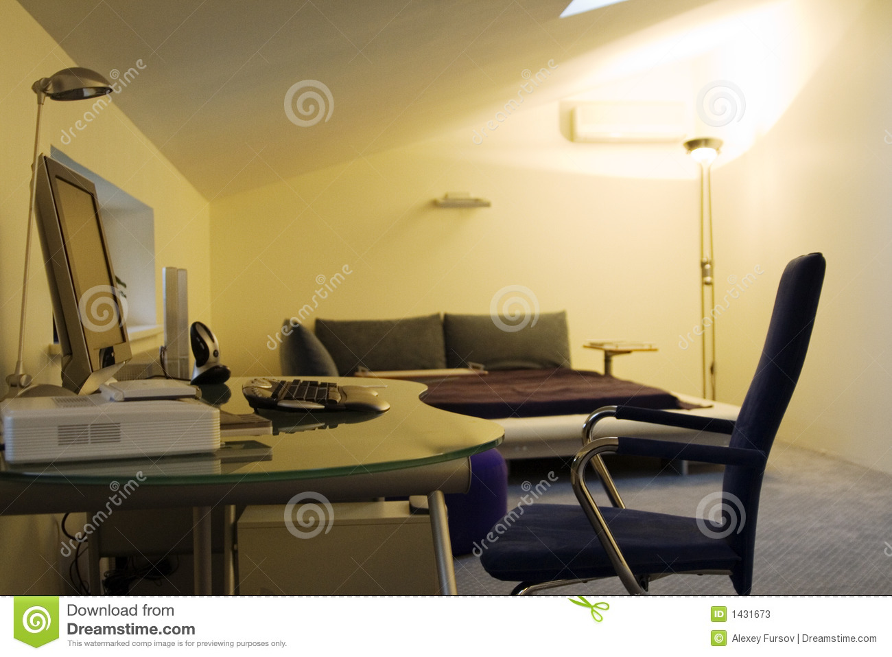 Place for work at home