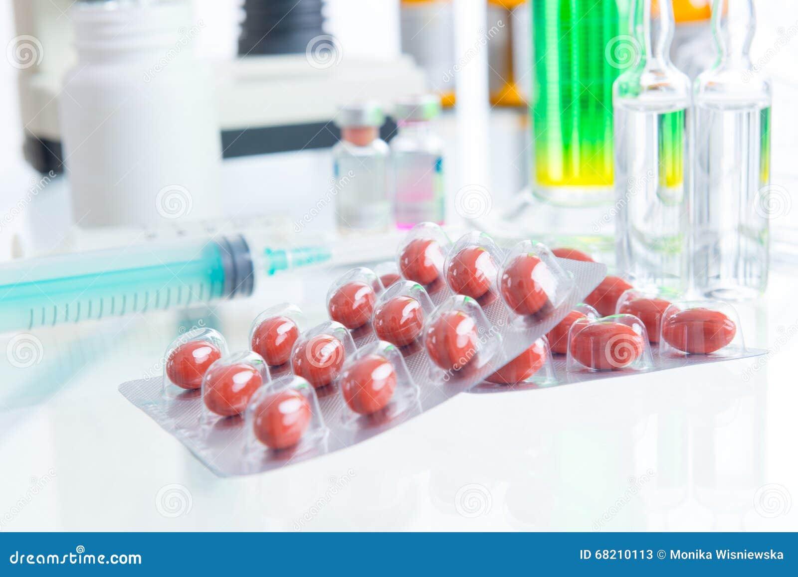 Placebopreventivpillerar och injektion