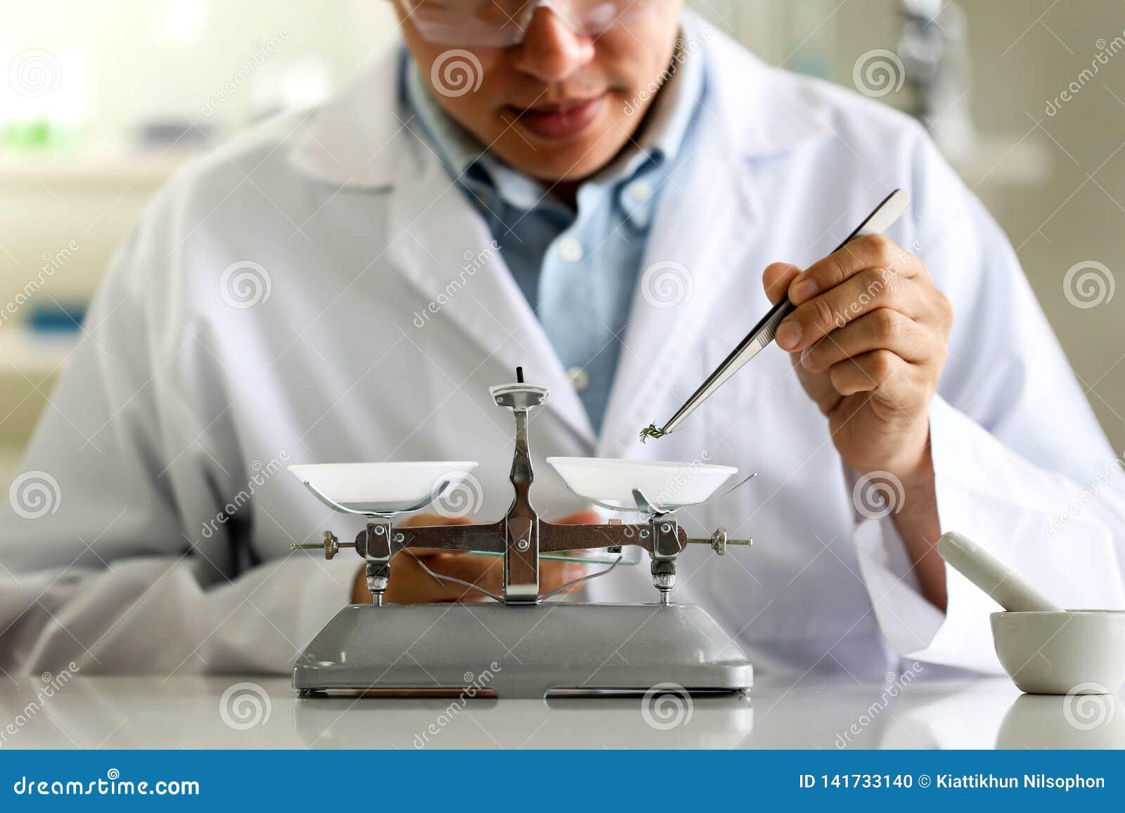 Placez du développement chimique et de la pharmacie de tube dans le concept de technologie de laboratoire, de biochimie et de rec