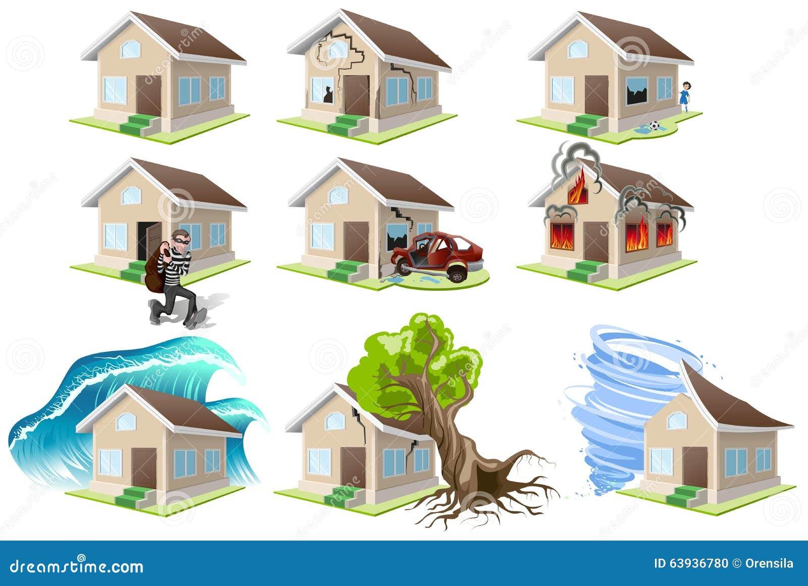 Malheur photos stock inscription gratuite for Assurance de maison