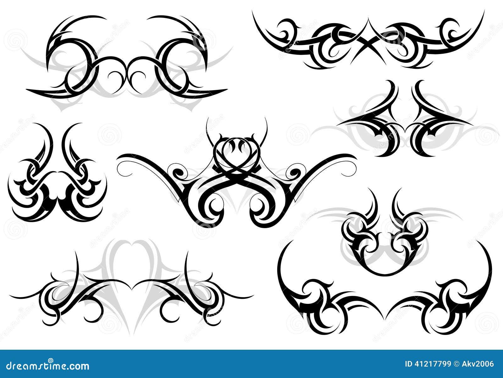 Placez Le Tatouage Tribal Illustration De Vecteur Illustration Du