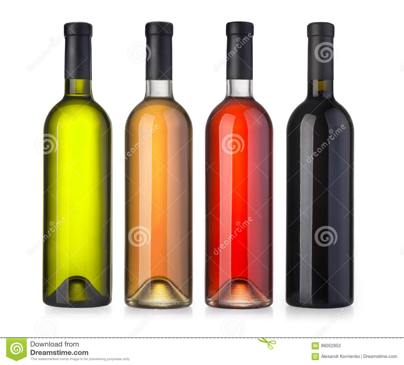 Placez les bouteilles de vin