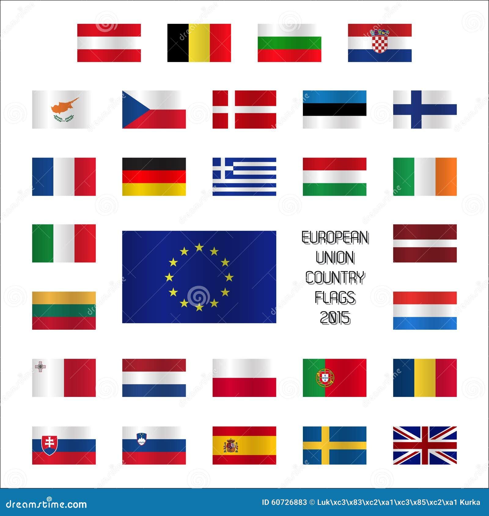 Très Indicateurs De Pays Européen Illustration de Vecteur - Image: 12977649 PP66