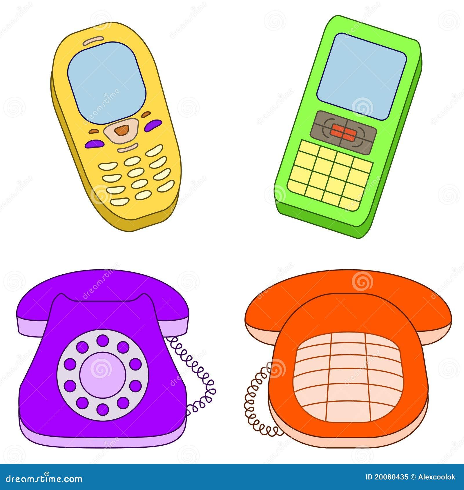 Placez les téléphones