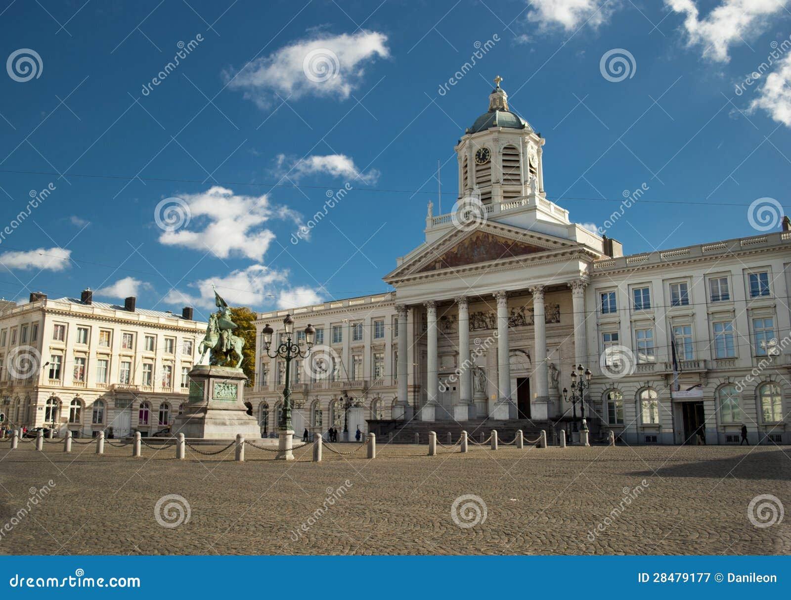 Placez Royale à Bruxelles