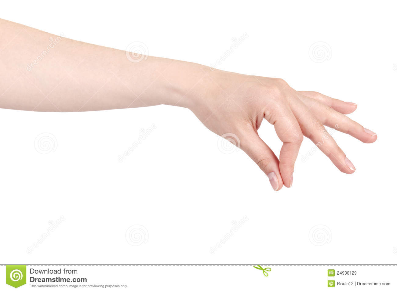 Placing or pinching hand sign royalty free stock images image