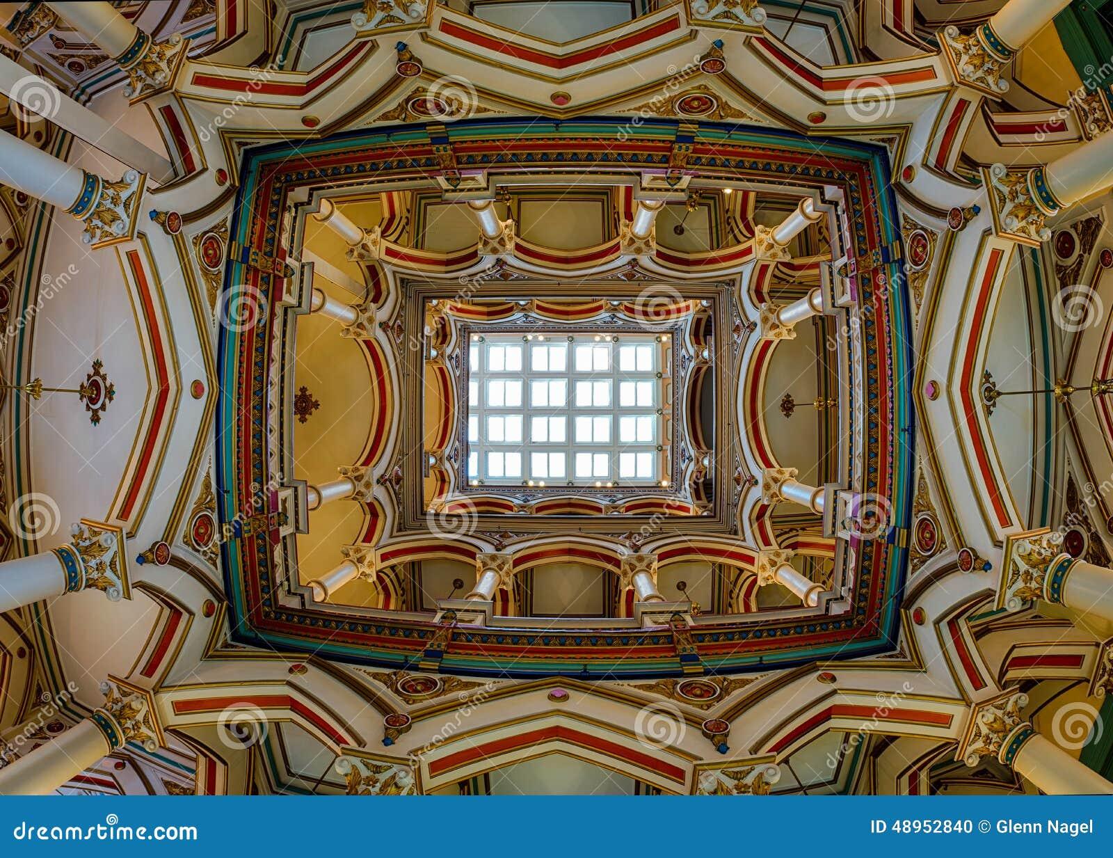 Plafond de Richmond Old City Hall