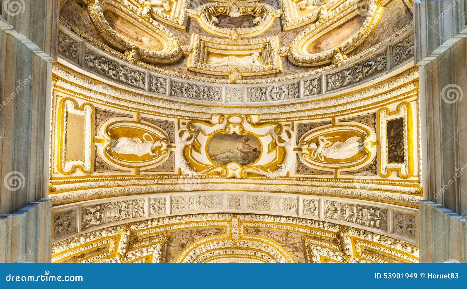 Plafond van het Paleis van de Doges