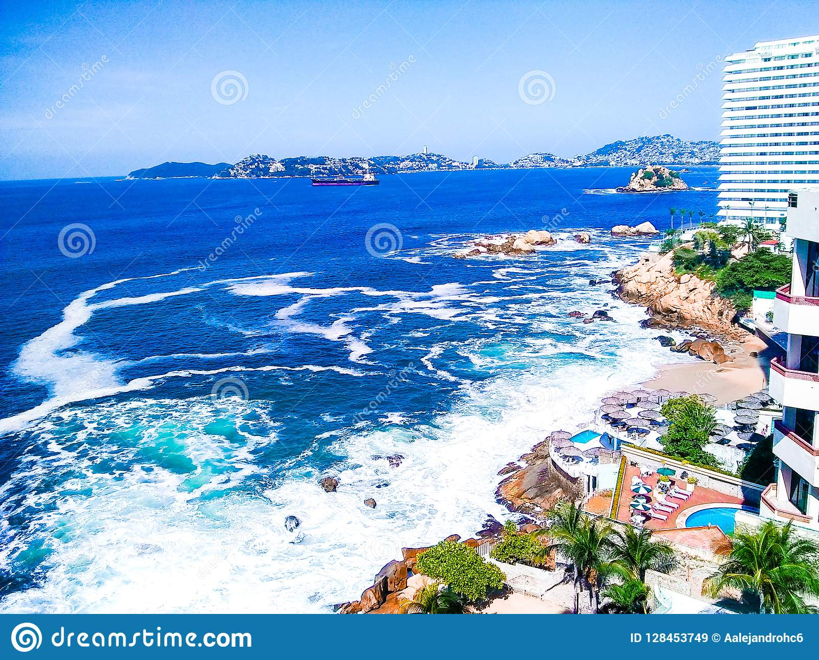 Plage d Acapulco