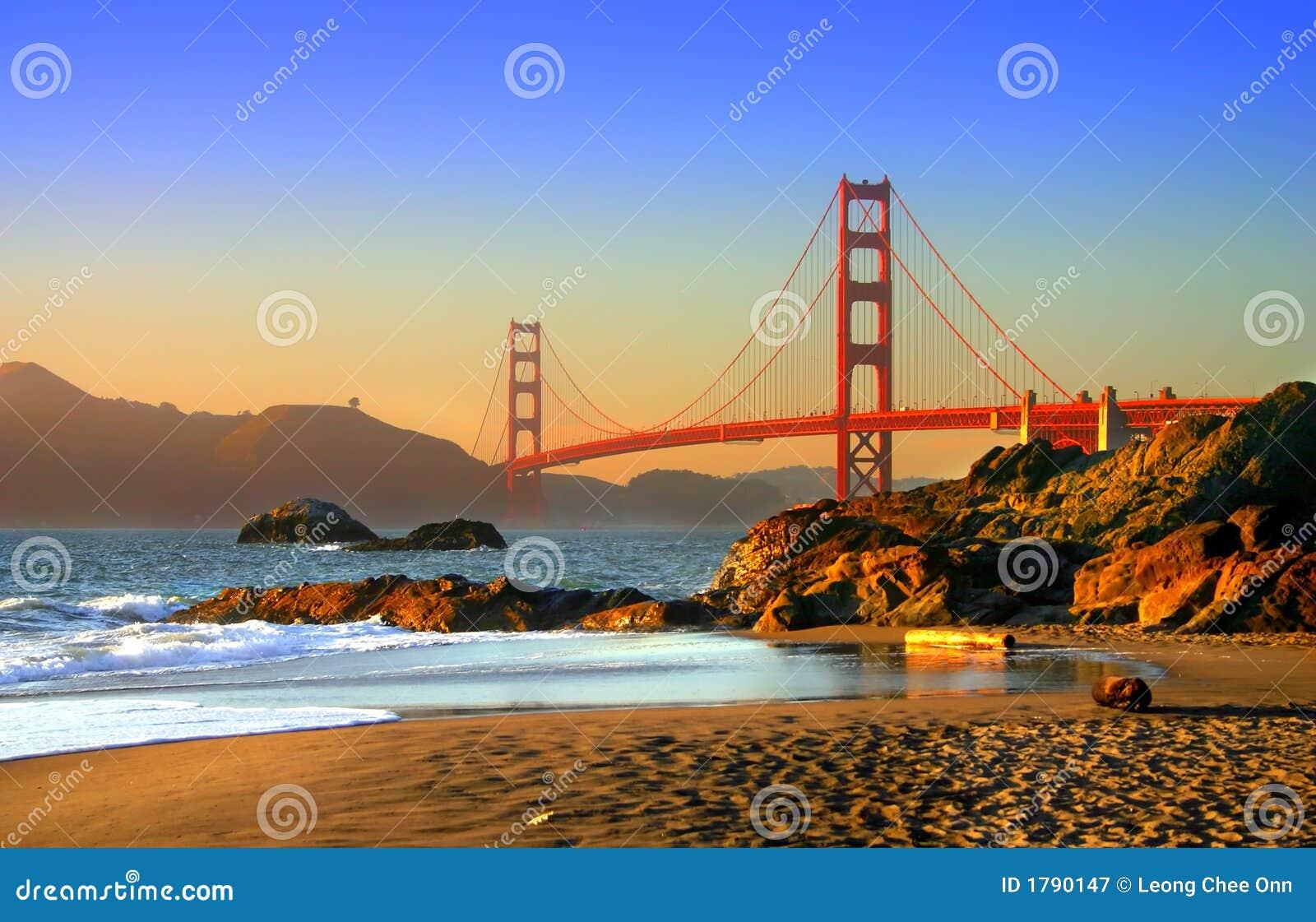 Plage De Baker, San Francisco Image stock - Image du beauté ...