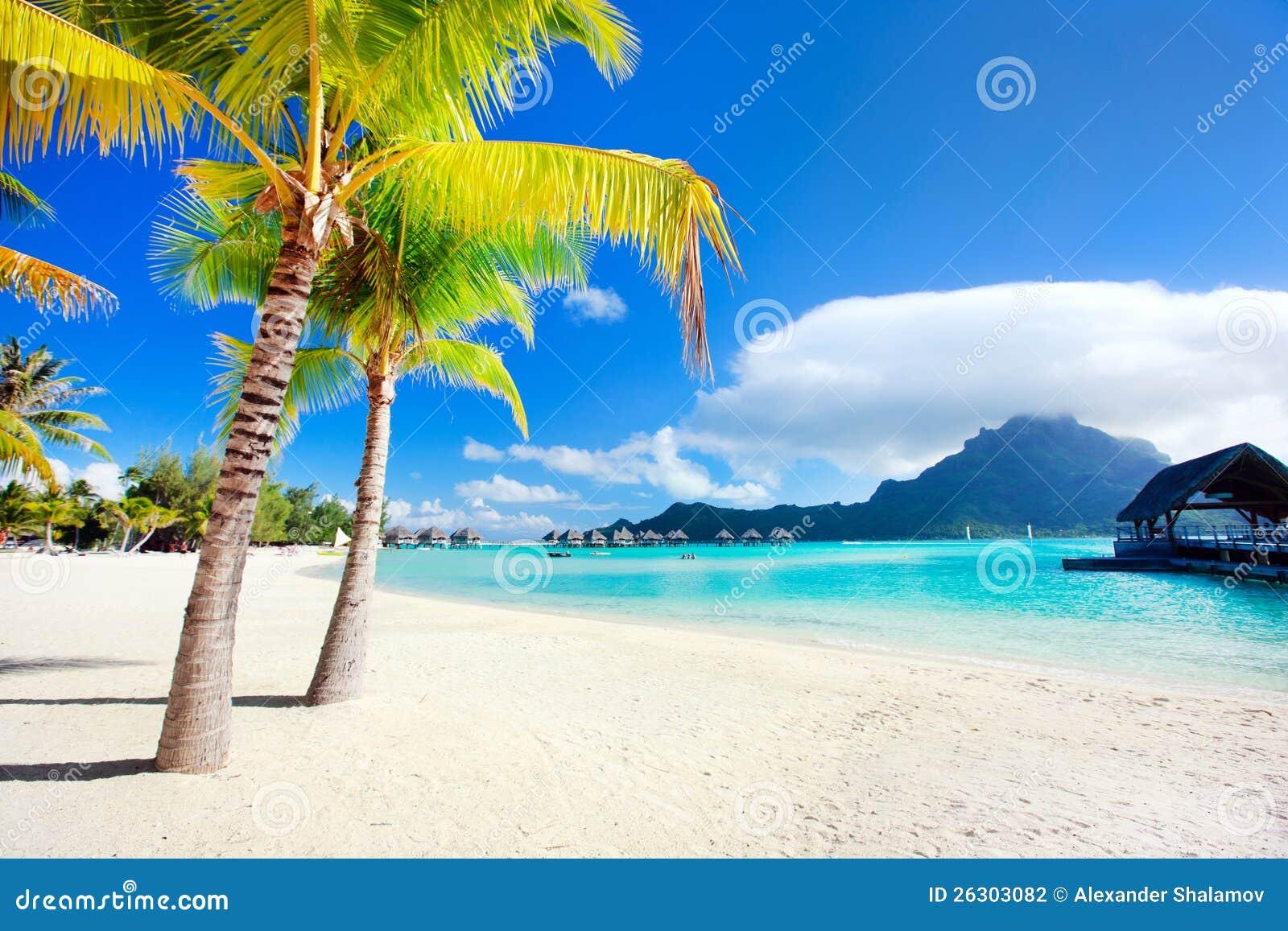 Plage de Bora Bora
