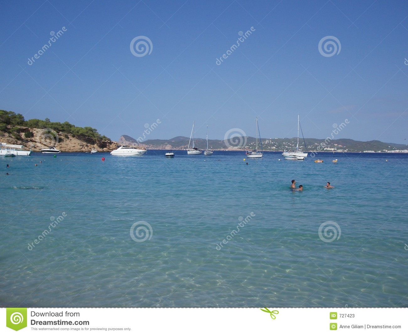 Plage de Cala Bassa, Ibiza