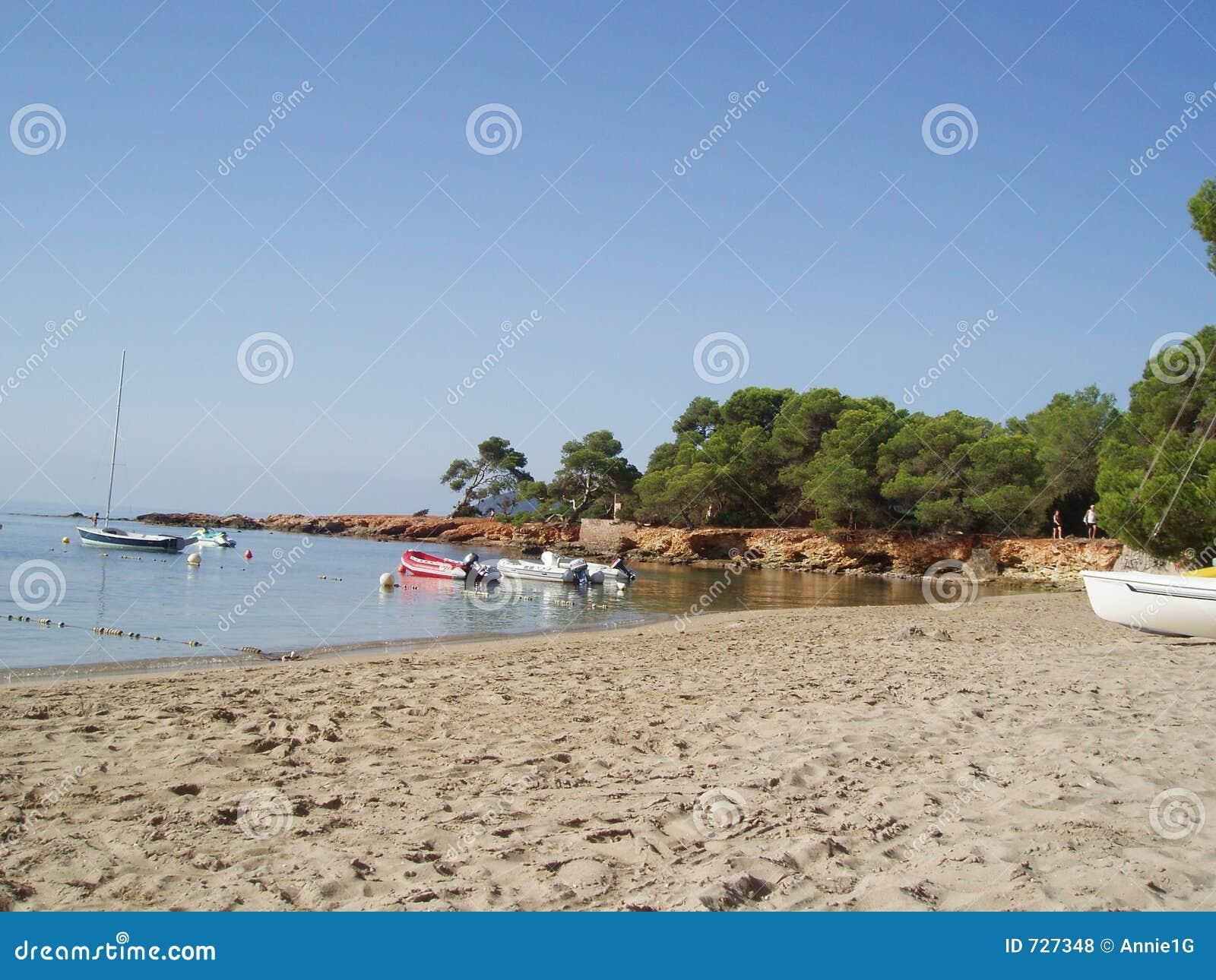 Plage de Cala Pada, Ibiza